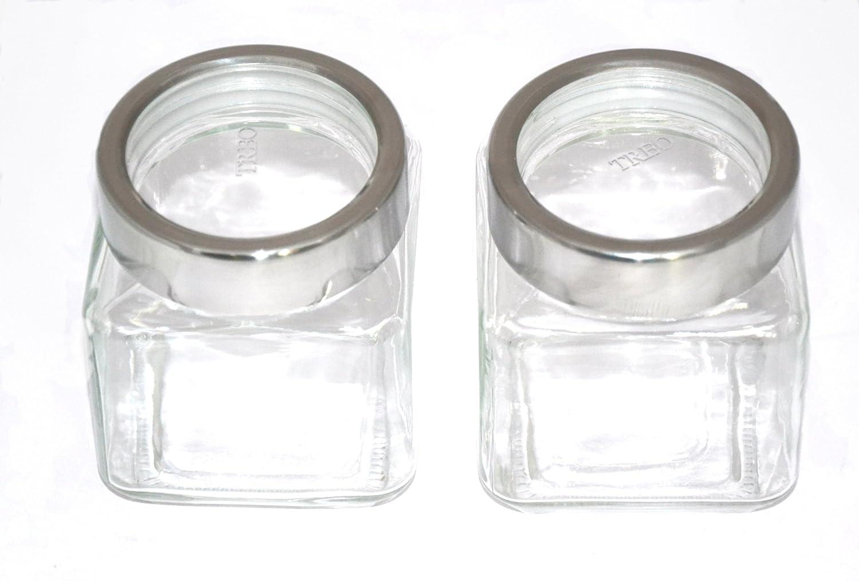 Treo By Milton Cube Jar Set, 580ml, 2-Pieces