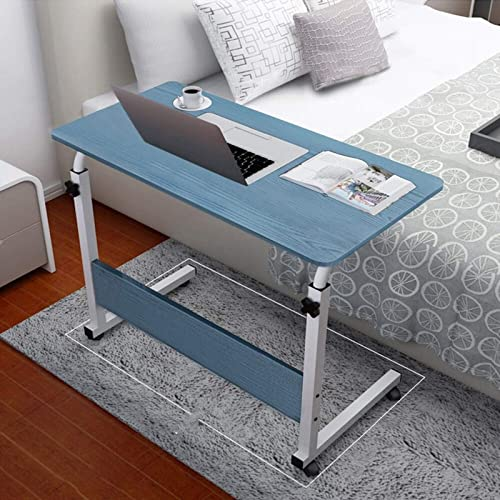 Computer Desk Bedside Table Couch Bed TV Dinner Tray Tables Adjustable Home Office Chair Can Be Lifted and Lowered Mobile Bule - the best home office desk for the money
