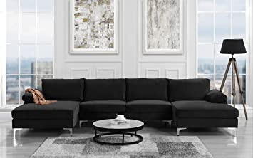 Sofamania Modern Sectional - Incredible Sturdiness
