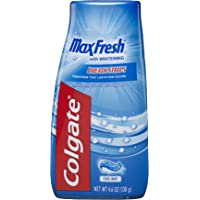 Colgate Max Fresh Liquid Gel 2-in-1 Toothpaste and Mouthwash - 4.6 ounce (12 pack)