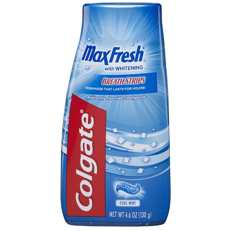Colgate マックス新鮮な液体ゲル2-IN-1歯磨き粉およびマウスウォッシュ - 4.6オンス(12パック) B0046OI5L2