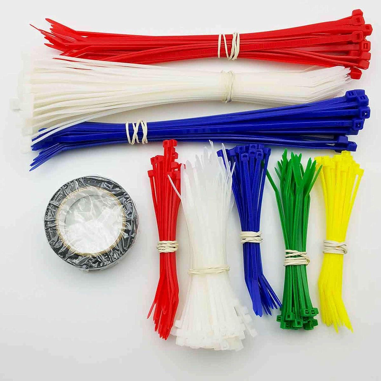 Cambridge Zipits Multi Purpose Cable Ties Zip Ties 8 Inch 50 Lb 100 Pieces Standard Duty Green