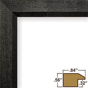 Amazon.com - Craig Frames 7171610BK 19x27 Picture Frame, Solid Wood ...