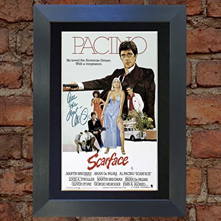 Al Pacino Scarface Top Quality Signed Autograph Mounted Photo