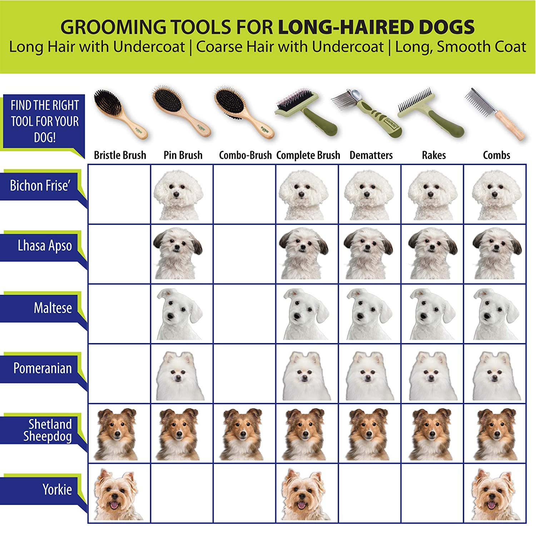 Coastal Pet Products DCPW577 Safari Longhaired Coats Dog Flea Comb