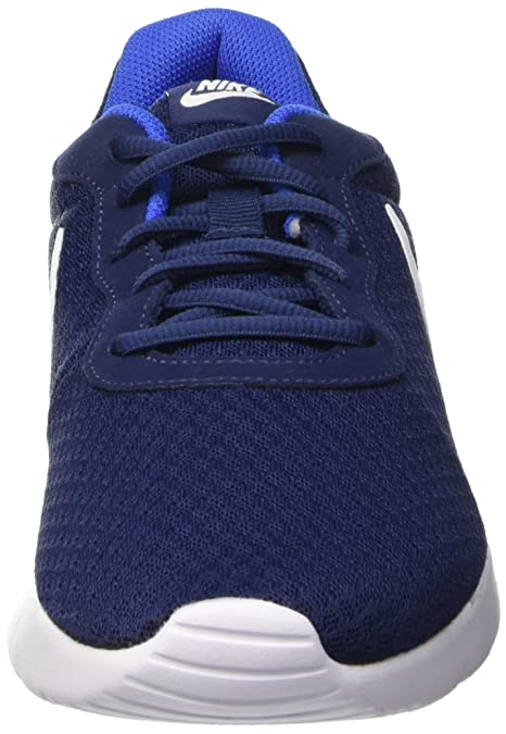 Amazon.com | Nike Mens Tanjun Running Sneaker (10.5 M US, Midnight Navy/White Game Royal) | Fashion Sneakers