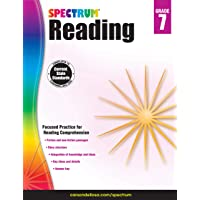 Spectrum 704585 Reading Workbook, Grade 7