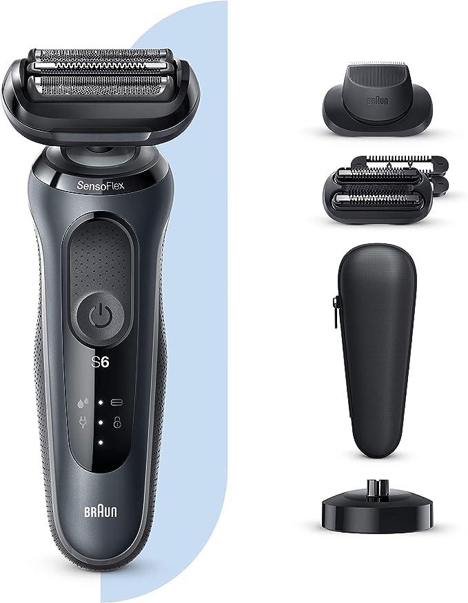 Braun Series 6 60-N4820cs Afeitadora Eléctrica, máquina de afeitar ...