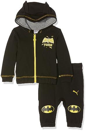 PUMA-Chándal para niño, diseño de Batman, Color Negro (24 Meses ...