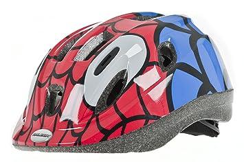 Raleigh Mystery Spiderman - Casco de Ciclismo para niño, Color
