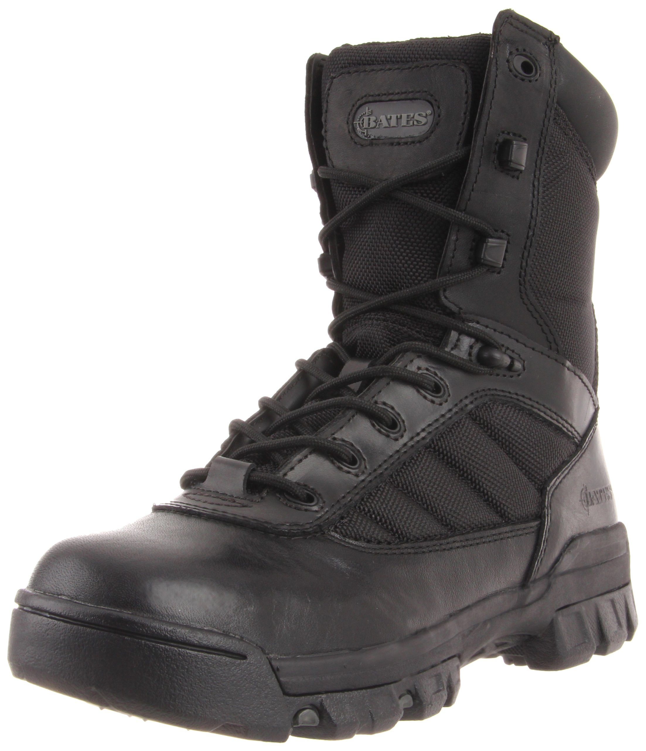 Bates Women's Ultra-Lites 8 Inches Tactical Sport Side Zip Boot,Black,8 M US by Bates