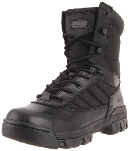 Bates Women's Ultra-Lites 8 Inches Tactical Sport Side Zip Boot,Black,5