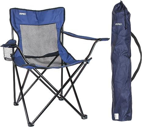 Silla de Camping Ligera URPRO Sillas,Silla Camping Silla Playa para Camping Pesca Senderismo Playa