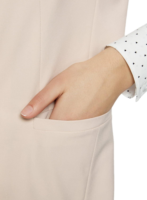 oodji Ultra Womens Long Double-Breasted Vest