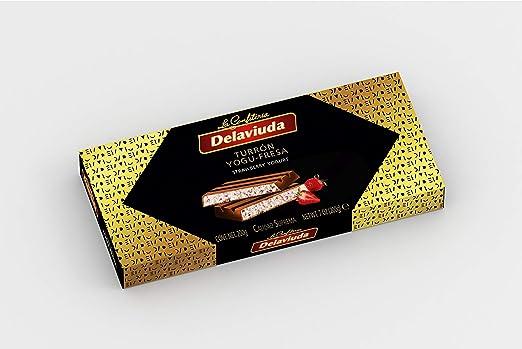 Delaviuda - Turrón Yogu-Fresa, 200 g