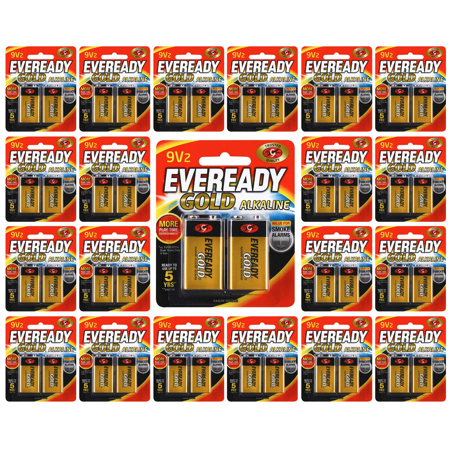 Energizer Holdings Eveready Alkaline General Purpose Battery (48 Batteries (24 Cards of 2))