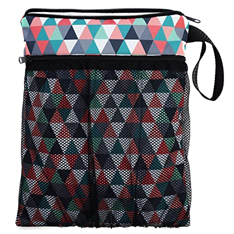 Bolsa para la bolsa de pañales sucios y un pañal limpio para el bebé neceser bolsa