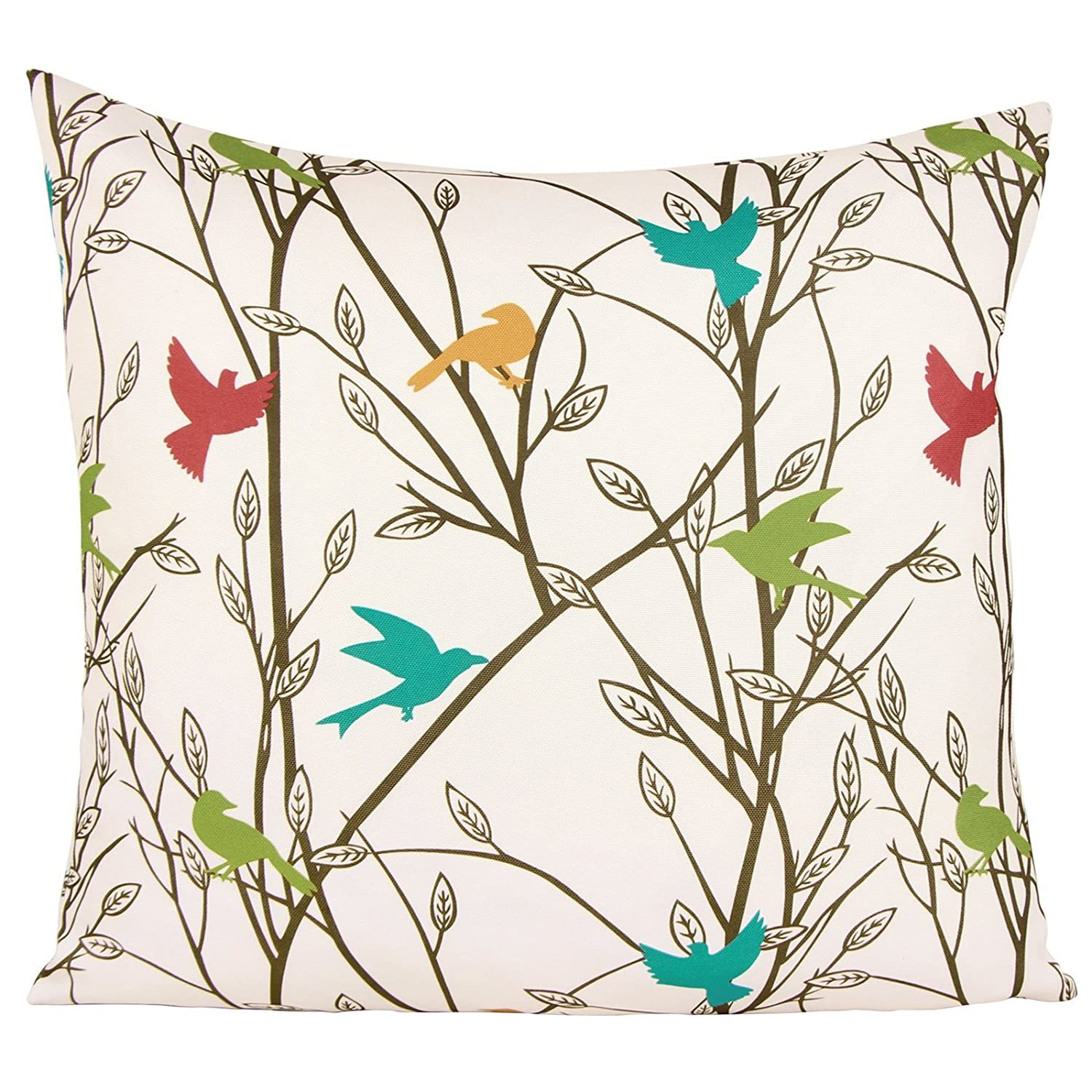 Colorful Bird Pillow Cover $1.