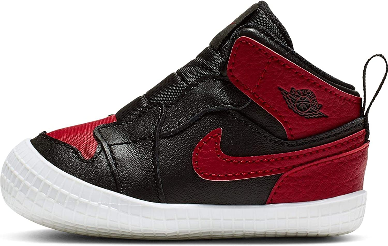 Jordan Nike 1 Crib Bootie Black