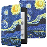 MoKo Funda para Kindle Paperwhite (10th Generation, 2018 Releases), Ultra Delgada Ligera Smart-Shell Soporte Cover Case…