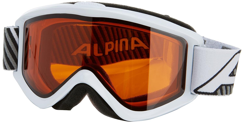 Alpina Smash 2.0 Multimirror Skibrille (Farbe: 839 schwarz, Scheibe: MULTIMIRROR orange (S2))