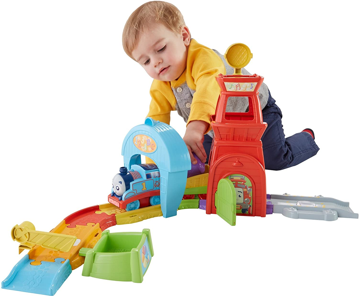 Thomas & Friends Fisher Price My First, Railway Pals Rescue Tower by Thomas & Friends
