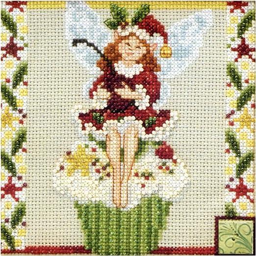 Cupcake Fairy Bead Cross Stitch Kit Mill Hill 2011 Jim Shore Fairies