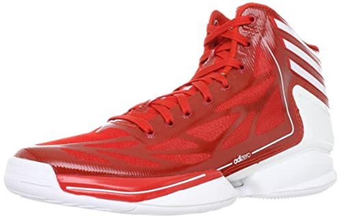 d6027f38ef4 Adidas Adizero Crazy Light 2 Basketball Shoes IN RED WHITE  Amazon ...