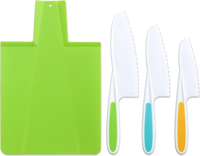 Amazon.com: tovla plegable para niños de cuchillo de cocina ...