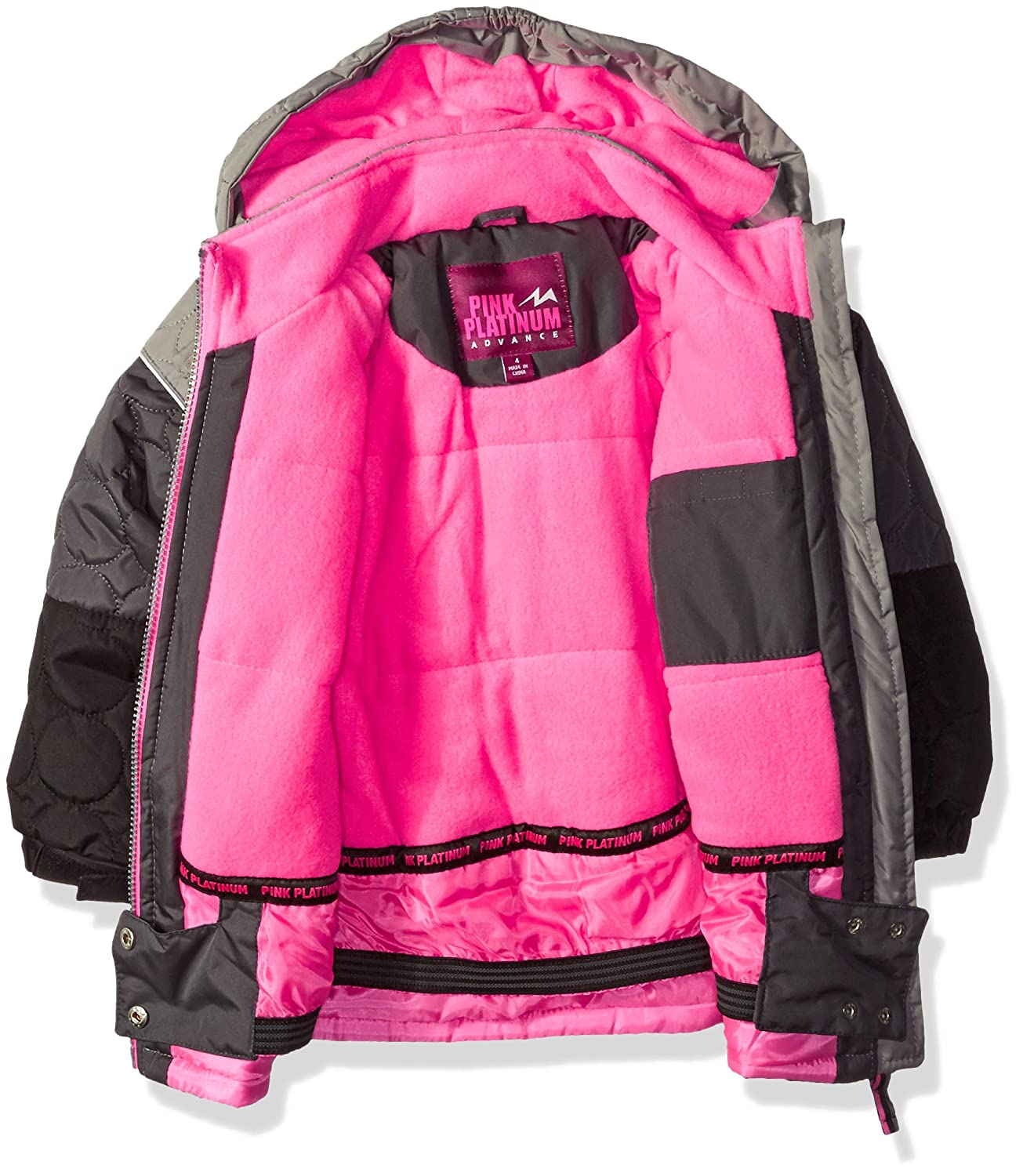 better heart snowsuit ca platinum pink girls dp camo print amazon clothing accessories