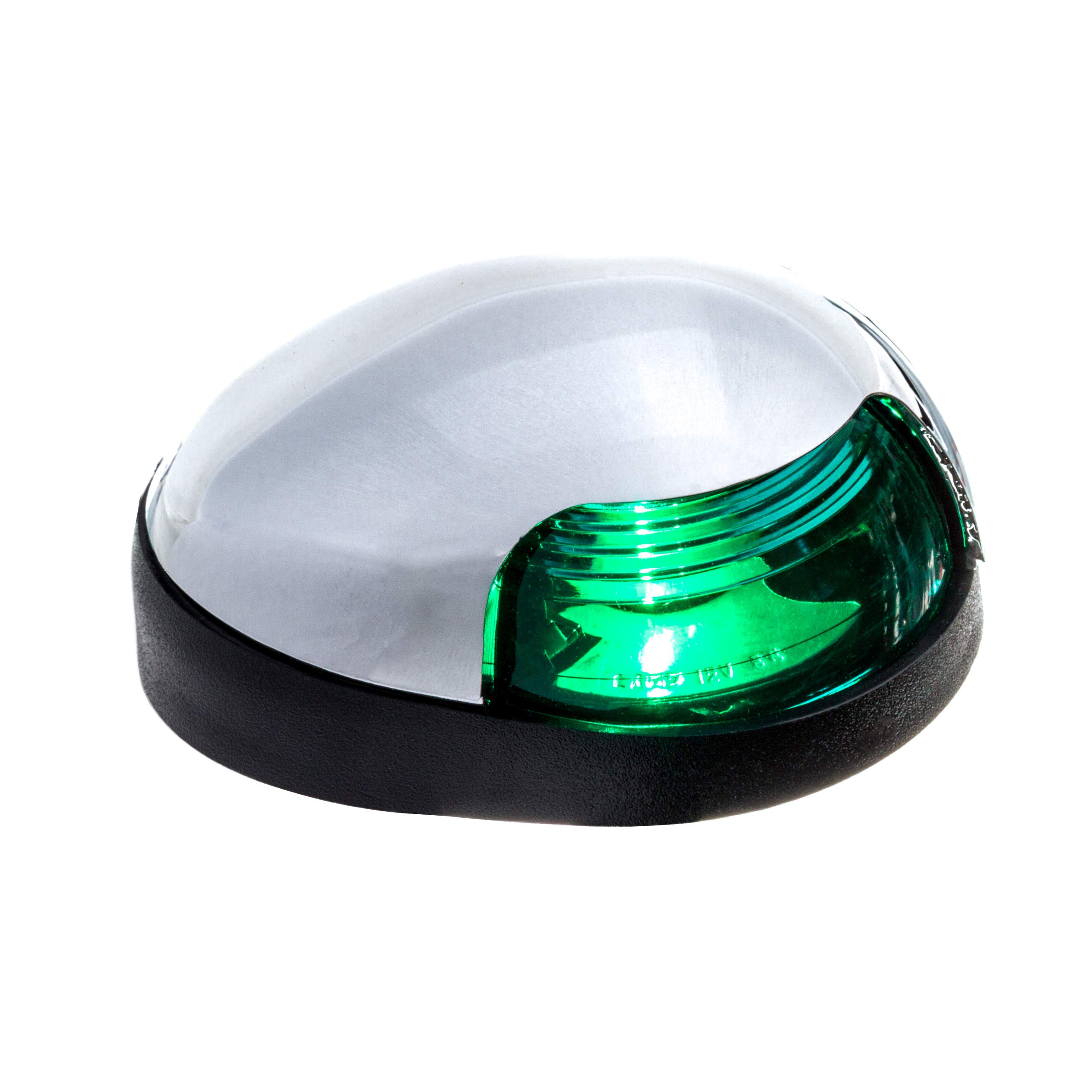 Attwood Corporation 3153G7 7''Green 7'' Chrome Deck Mount by attwood