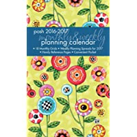 Posh: Button Flowers 2016-2017 Monthly/Weekly Planning Calendar