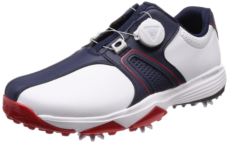 [アディダスゴルフ] ゴルフシューズ 360トラクション ボア ワイド メンズ B079PN4HWW 27.5 cm ホワイト/カレジエイトネイビー/スカーレット