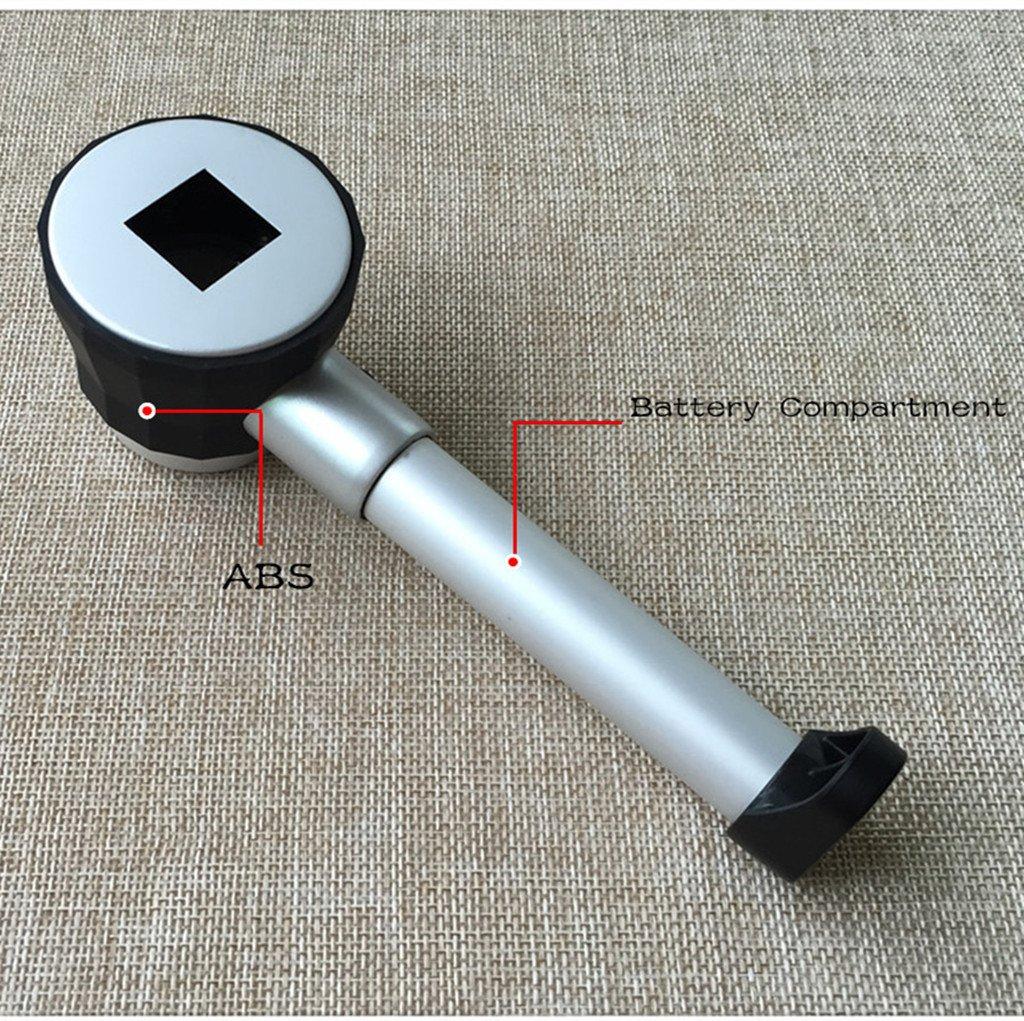 20X /Ø25mm Lente dingrandimento con Impugnatura e 6 Luci a LED