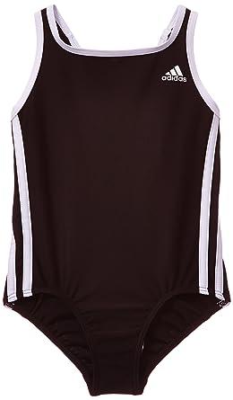 d94cfa648c adidas Girls' Infinitex 3-Stripes 1-Piece Swimsuit: adidas: Amazon ...