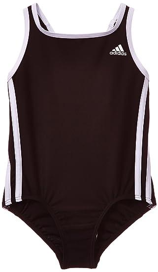 6d42fda9e5049 adidas Mädchen Badeanzug 3-Streifen: Amazon.de: Bekleidung
