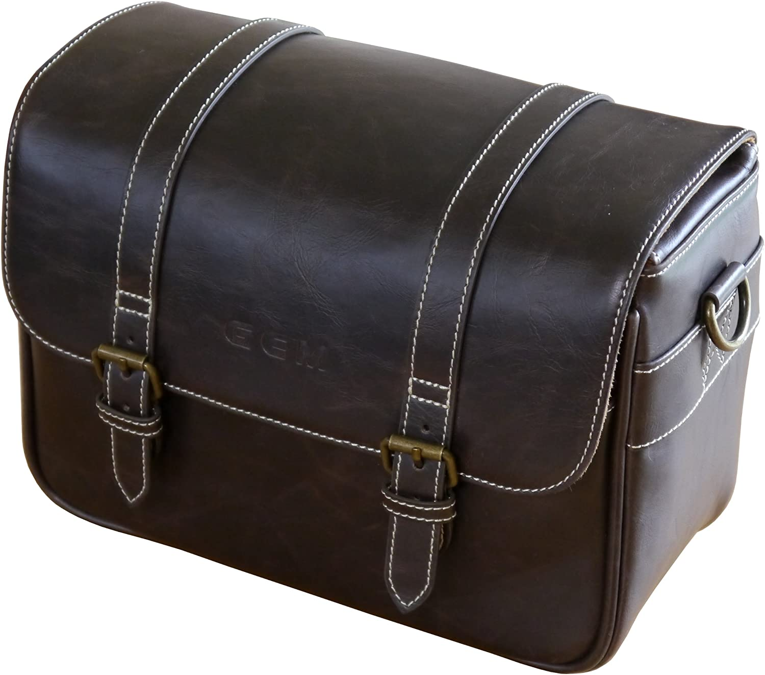GEM Retro Case for Sony Alpha NEX-5T Compact System Camera Plus up to Two Spare Lenses and Accessories