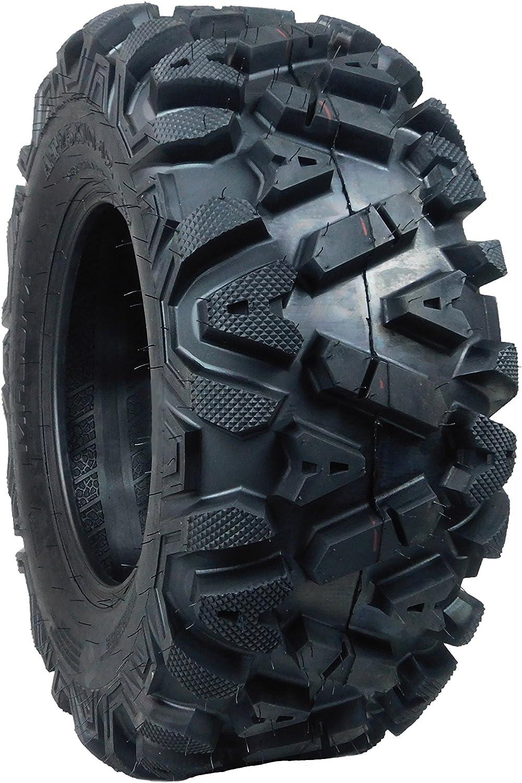 2 New Rear 25x10-12 KT MASSFX TIRE SET ATV TIRES 6 PLY 25 25x10x12