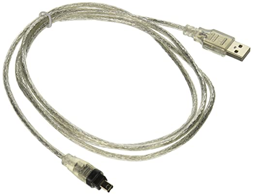 Amazon.com: USB to Firewire Ieee 1394 4 Pin Ilink Adapter Cable ...