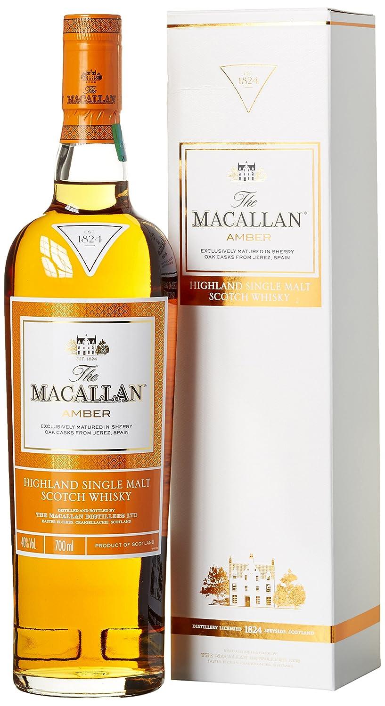Macallan Amber Highland Single Malt Whisky (1 x 0.7 l): Amazon.de ...