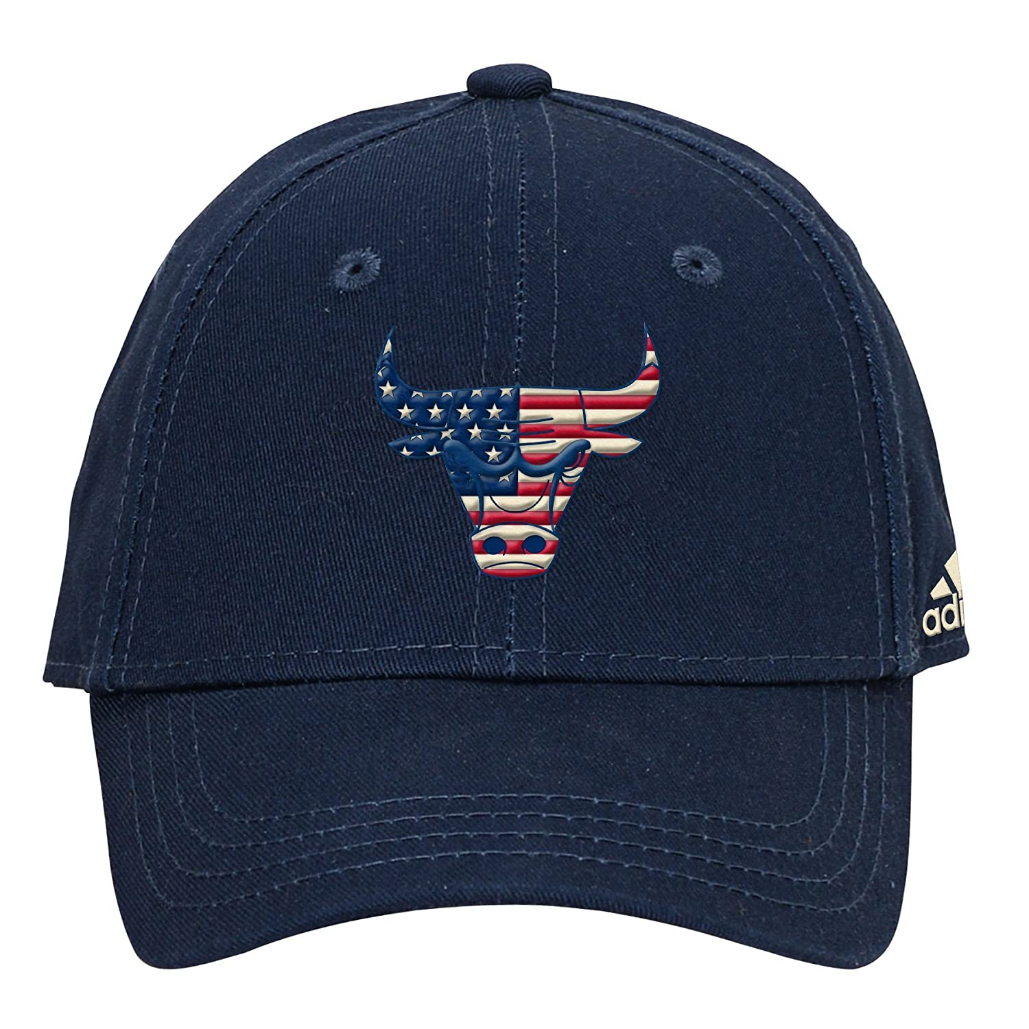 542e1e9a9f2 Amazon.com   NBA Youth Boys 8-20 Patriotic Logo Structured Adjustable Hat- Navy-1 Size