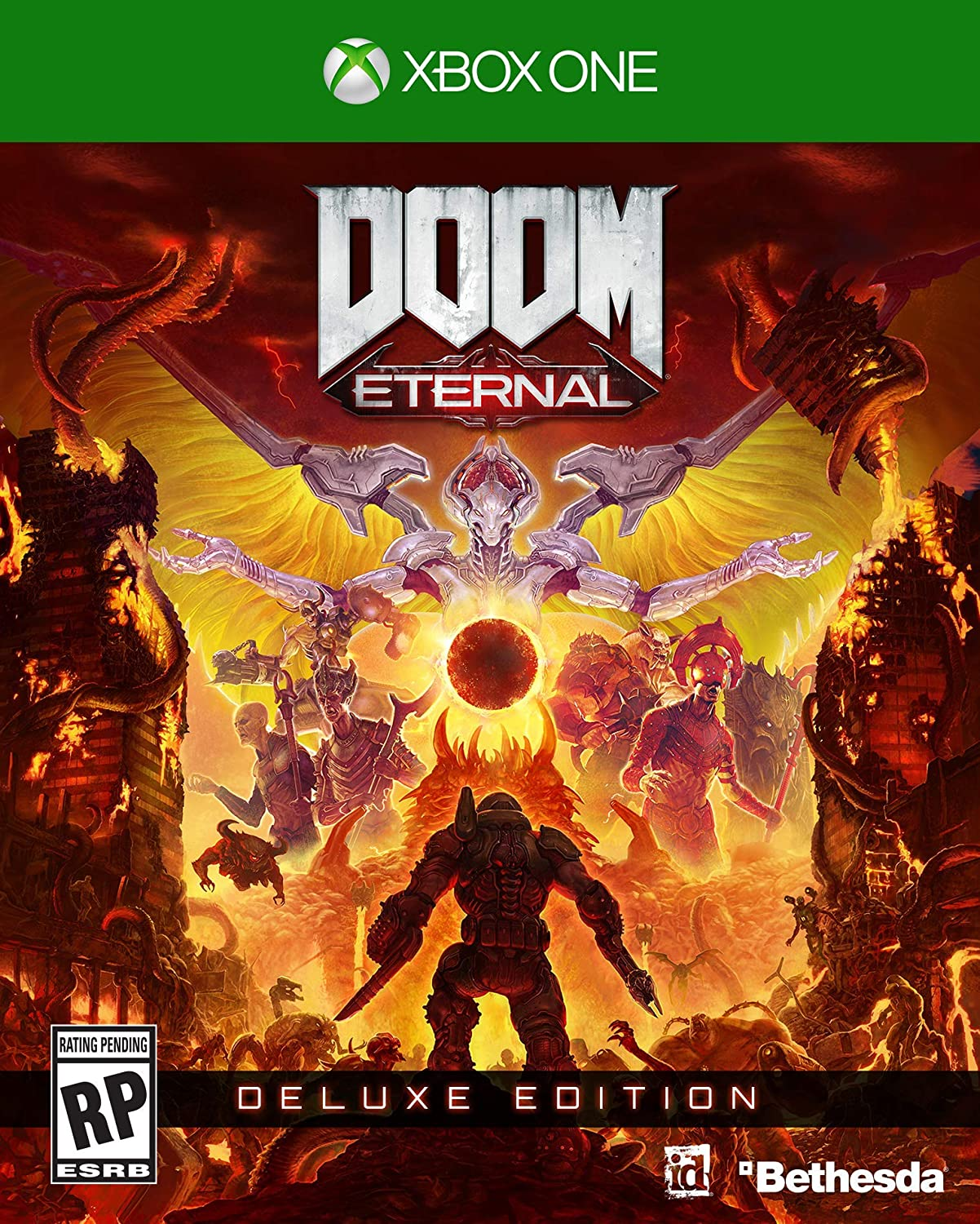 Amazon com: Doom Eternal - Xbox One Deluxe Edition: Video Games