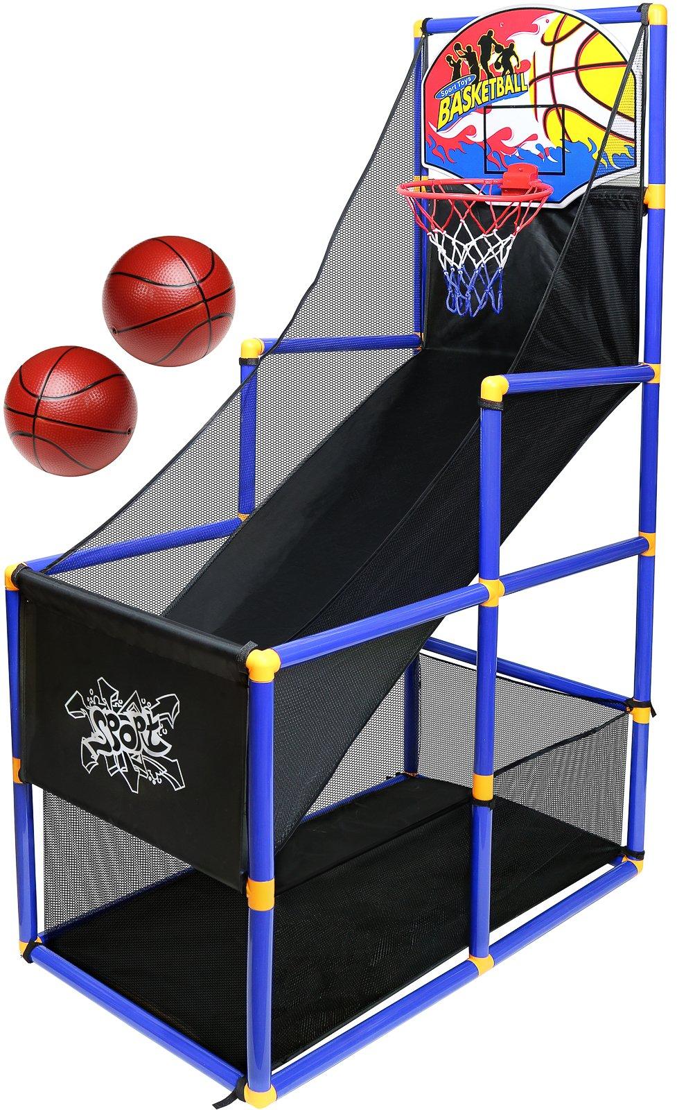 Kiddie Play Kids Basketball Hoop Arcade Game by Kiddie Play