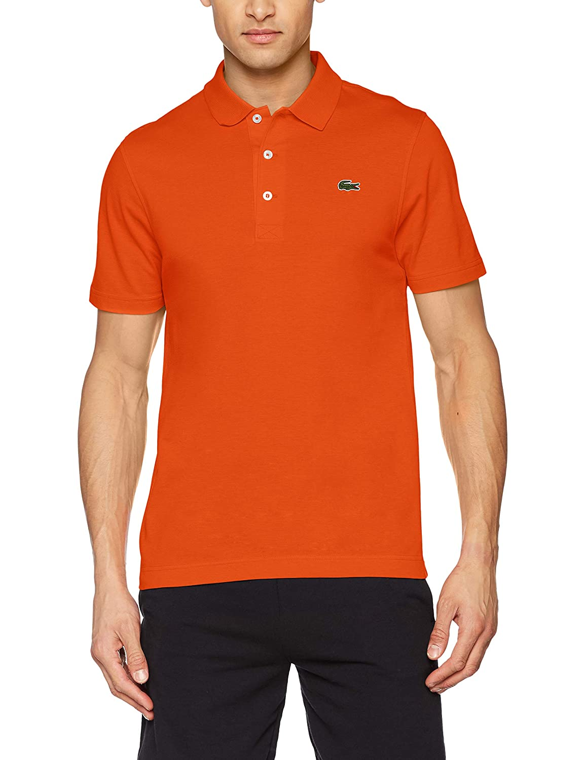 Orange (Geranium 5rq) XXXX-grand  Lacoste, Polo Homme, Sport