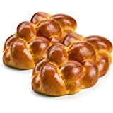 Stern's Bakery Kosher Challah Bread-15 Ounce Traditional Challah for your Holiday or Shabbat Table [ 2 Challah Breads Per Pac