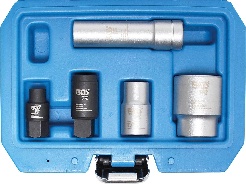 BGS 9175 | Juego de llaves de vaso para bombas Bosch VE | 5 piezas