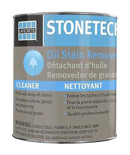 StoneTech aceite quitamanchas, limpiador para piedra natural, lechada, cartucho para mampostería, 3