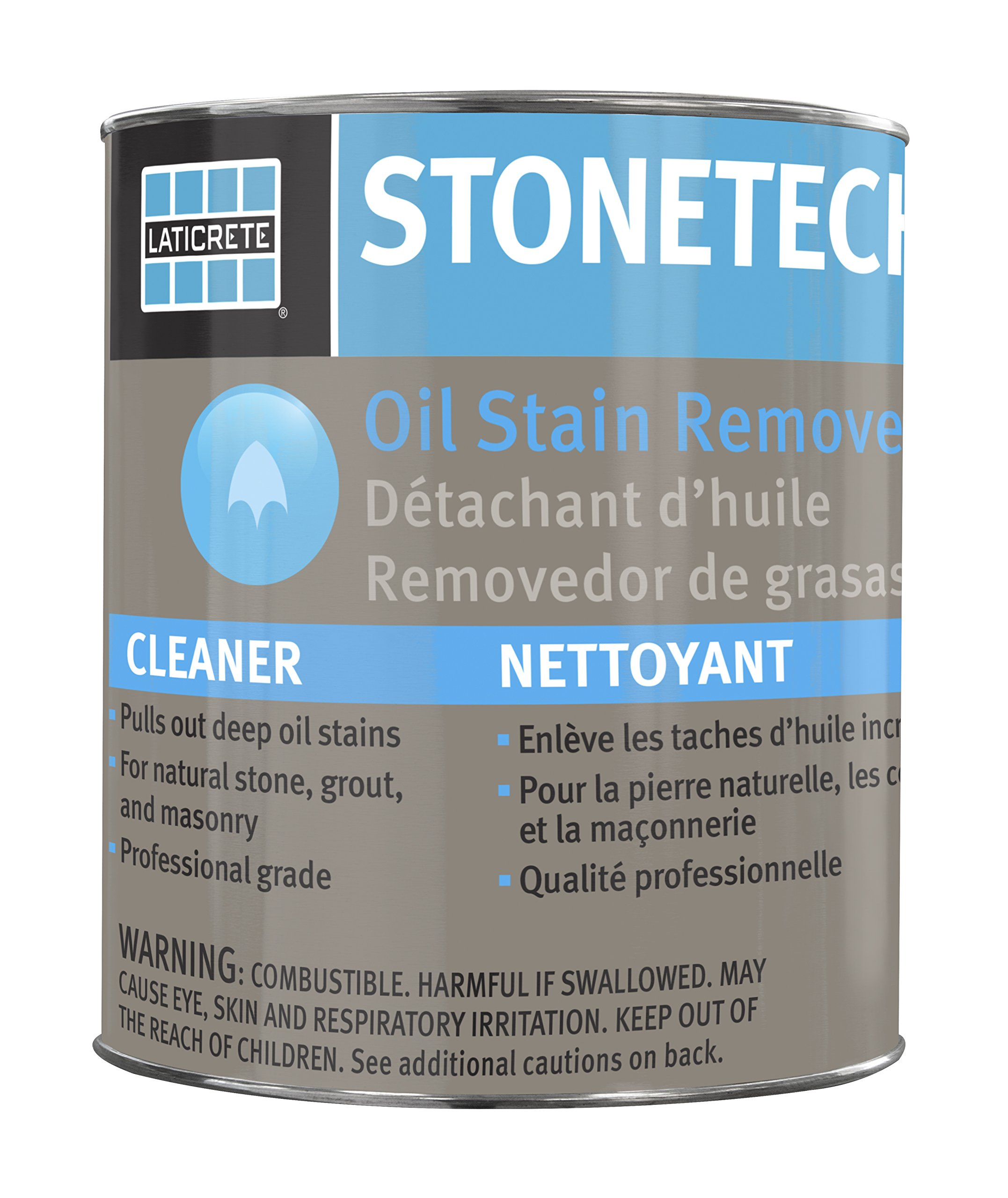 Amazon.com: StoneTech Oil Stain Remover, Cleaner for Natural Stone ...