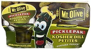 MT OLIVE pickle pak KOSHER DILL PETITES (3.7 Fl Oz)