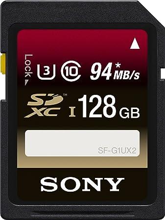Amazon.com: Sony 128 GB SDXC UHS-1 Clase 10 Tarjeta de ...